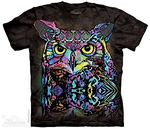 Russo Owl - Adult Tshirt - Dean Russo Collection