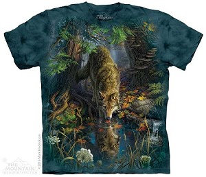 Enchanted Wolf - Adult Tshirt - Wolves Collection