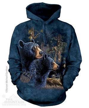 72-3481 - Find 13 Black Bears - Adult Hoodie