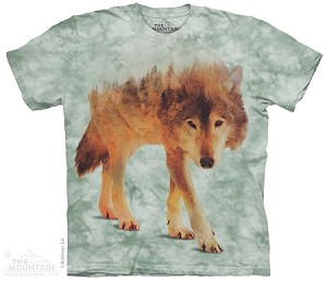 Forest Wolf - Adult Tshirt - Wolves Collection