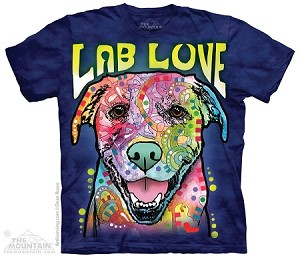 Lab Love - Adult Tshirt - Dean Russo Collection