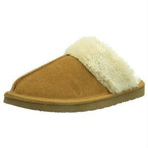 40881 Minnetonka Moccasins Women's Golden Tan Chesney Scuff