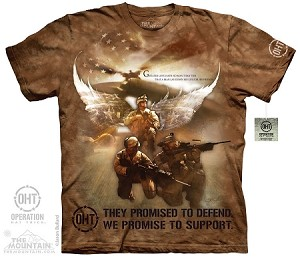 OHT - Combat Soldiers - Adult Tshirt - Operation Hat Trick Collection