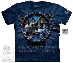 OHT - Eagle Inner Spirit - Adult Tshirt - Operation Hat Trick Collection
