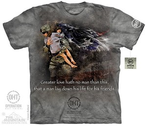 OHT - Heroic Soldier - Adult Tshirt - Operation Hat Trick Collection