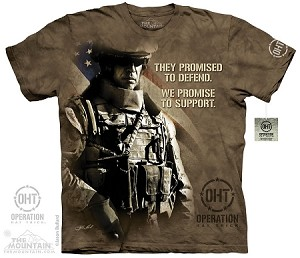OHT - Modern Soldier - Adult Tshirt - Operation Hat Trick Collection