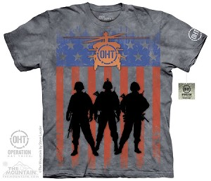 OHT - Three Troops - Adult Tshirt - Operation Hat Trick Collection
