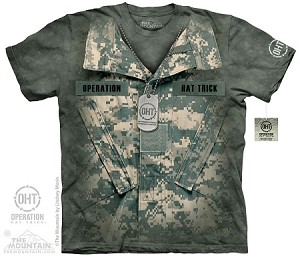 OHT - Uniform - Adult Tshirt - Operation Hat Trick Collection