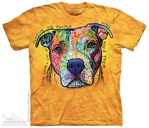 Dogs Have A Way Of Finding The People Who Need Them - Adult Tshirt - Dean Russo Collection