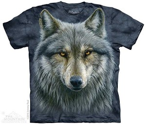 Warrior Wolf - Adult Tshirt - Wolves Collection