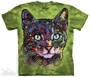 Watchful Cat - Adult Tshirt - Dean Russo Collection
