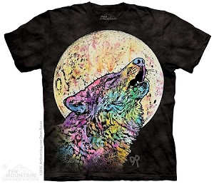 Russo Howling Wolf - Adult Tshirt - Dean Russo Collection