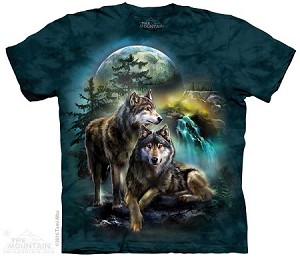 Wolf Lookout - Adult Tshirt - Wolves Collection