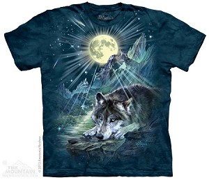 Wolf Night Symphony - Adult Tshirt - Wolves Collection