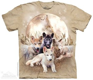 Young And Wild - Adult Tshirt - Wolves Collection